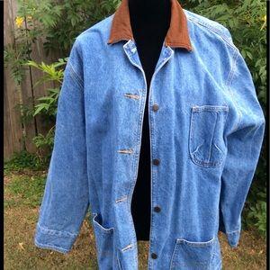 Fabulous Blue Jean Coat Button Down